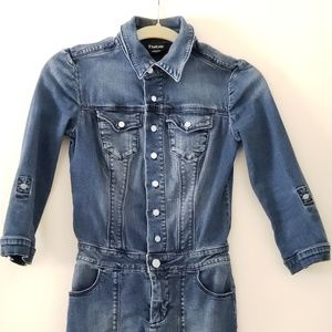 Bebe denim dress Xs size